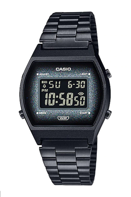 Casio Youth Digital Vintage Black B640WBG-1B Front