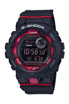 asio G-Shock Digital Step Tracker Black/Red GBD800-1D Front