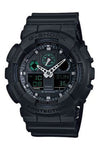 Casio G-Shock Duo Anti Magnetism Black GA100MB-1A Front