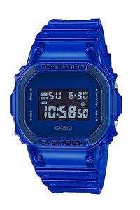 Casio NLA G-Shock Digital 90s See El Backlight Blue DW5600SB-2D Front