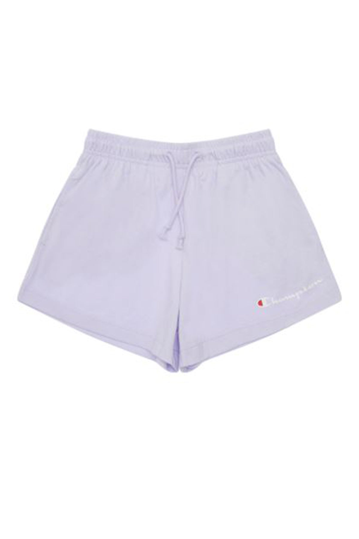 Champion Girl Jersey Script Short Lilac Front
