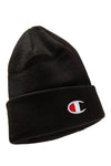 Champion Junior C-Logo Beanie Black Front