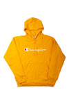 Champion Youth Script Hoodie Passion Mango Front