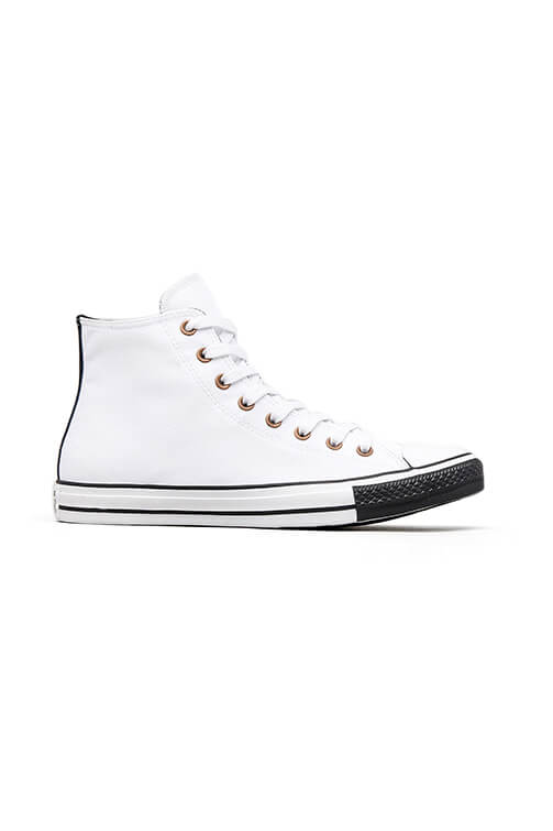 Converse CT Debossed Hi White/Black Side