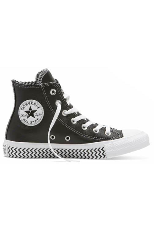 Converse CT Mission V Hi Black Side