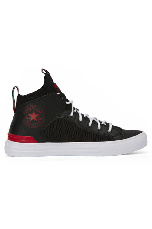 Converse CT Ultra Leather And Mesh Mid Black Side