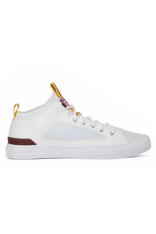 Converse CT Ultra Leather And Mesh Low White Side