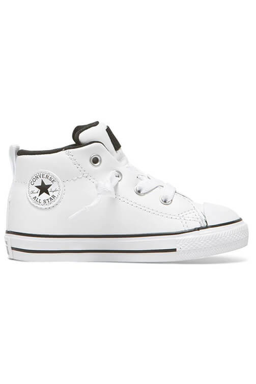 Converse Infant CT Street Mid White Side