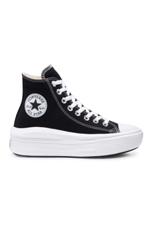 Converse Womens CT Move Hi Black Side