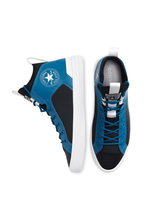 Converse CT Ultra Mid Blue/Black Side and Top
