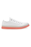 Converse CT CX Low Top White/Clear/Wild Mango Side