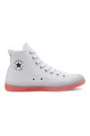 Converse CT CX Hi Top White/Clear/Wild Mango Side