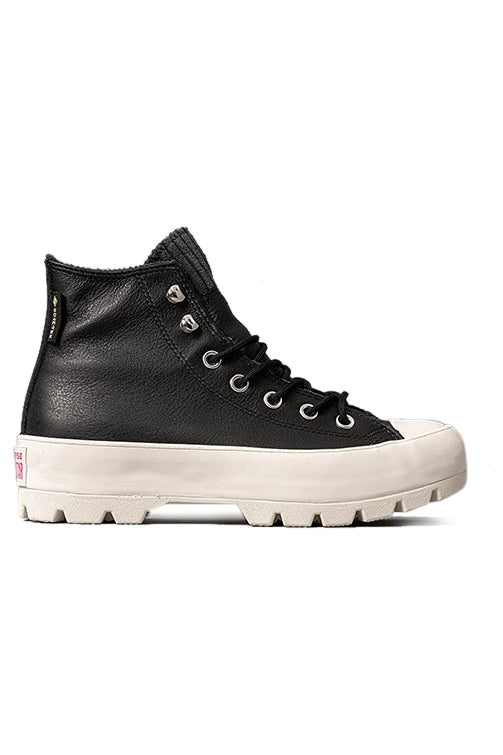 Converse Womens CT Lugged Winter Hi Black Side