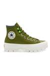 Converse Womens CT Lugged Winter Hi Dark Moss Side