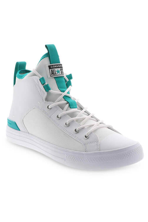 Converse CTAS Ultra Cons Force Mid White Angle