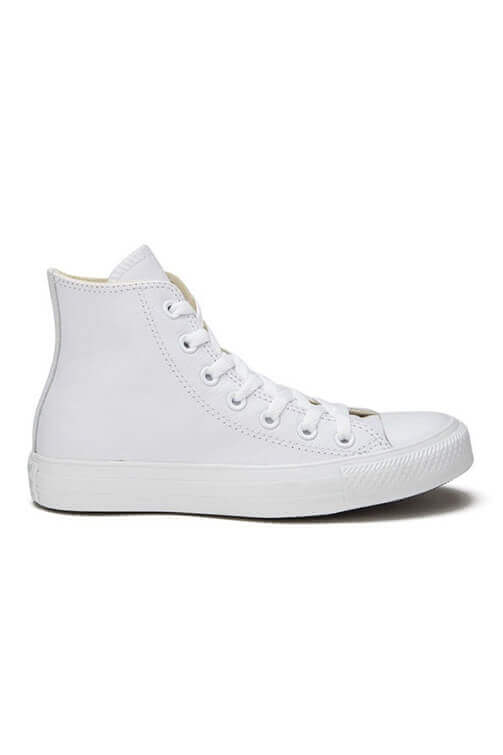 Converse CT Seasonal Leather Hi White Side