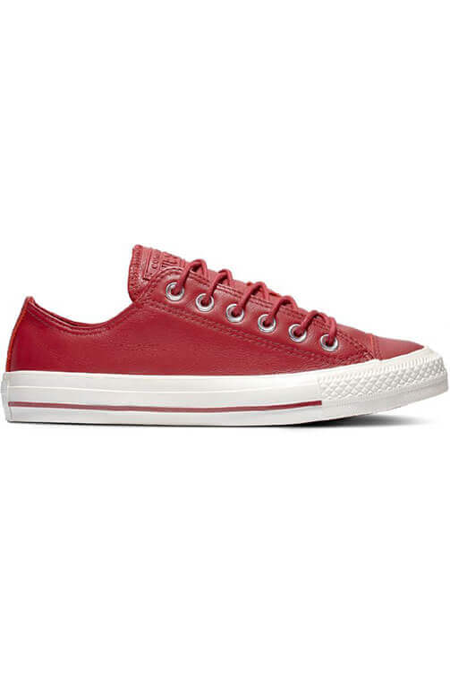 Converse CT Seasonal Leather Low Brick Side