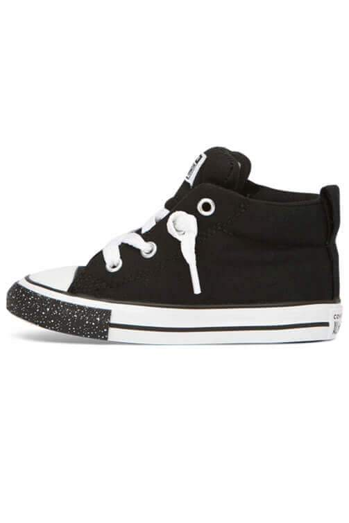 Converse Infant Street Speckle Toe Mid Black Reverse