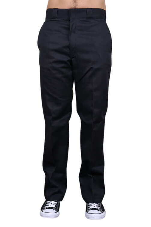 Dickies Traditional Pants Black Front
