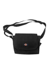 Dickies Basic Courier Satchel Bag Black Front