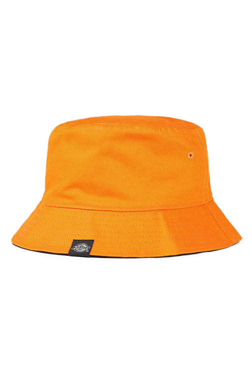 Dickies Stamford Reversible Bucket Hat Orange/Black Front