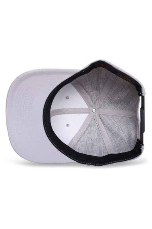 Flexfit Classic Marle Grey Snapback Under
