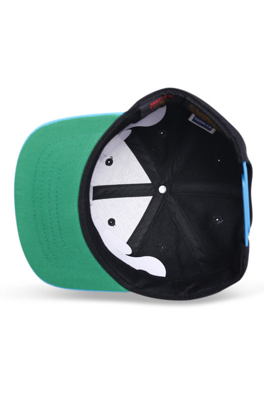 Flexfit Cap TOD Black / Aqua Under