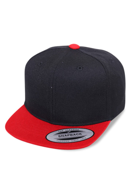 Flexfit Cap TOD Black / Red Angle