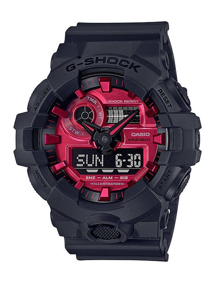 Casio G-Shock Duo Adrenalin Red GA140AR-1A