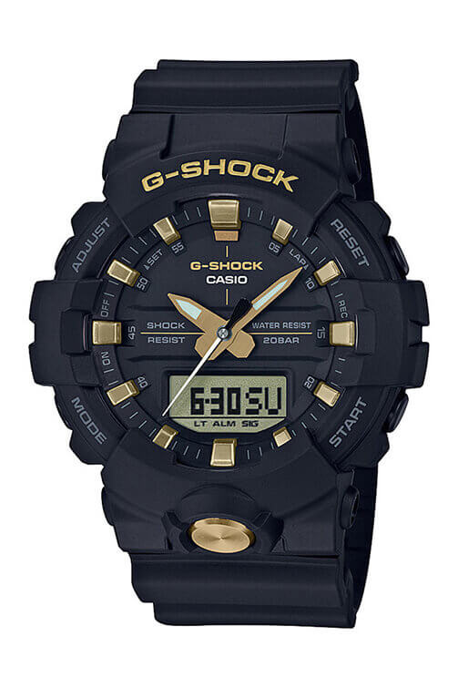 Casio G-Shock Duo Black/Gold GA810B-1A9