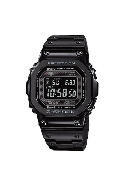 Casio G-Shock 5600 Black IP Black Screen