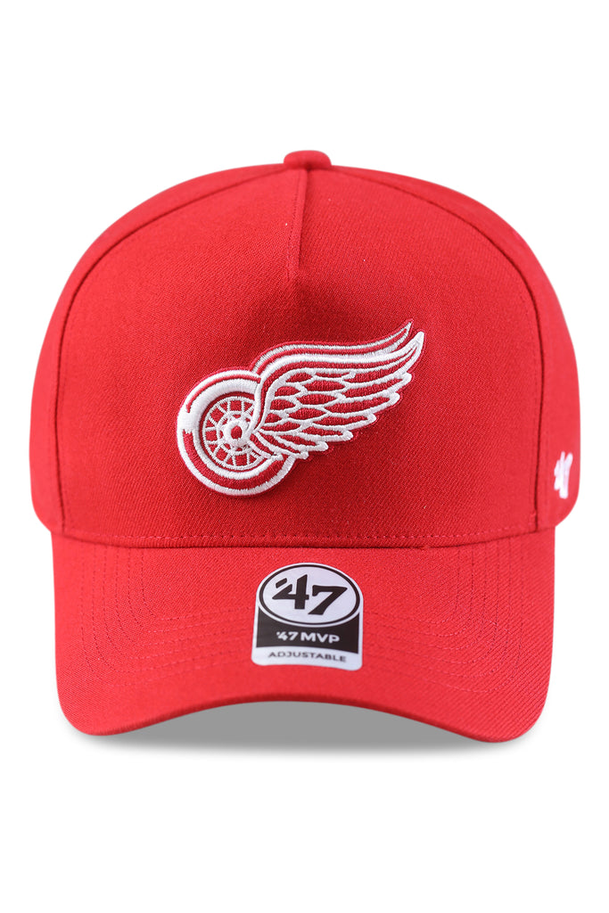 47 Brand Detroit Red Wings MVP DT Red Snapback Front