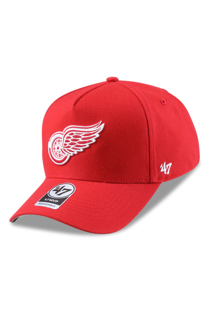 47 Brand Detroit Red Wings MVP DT Red Snapback Angle