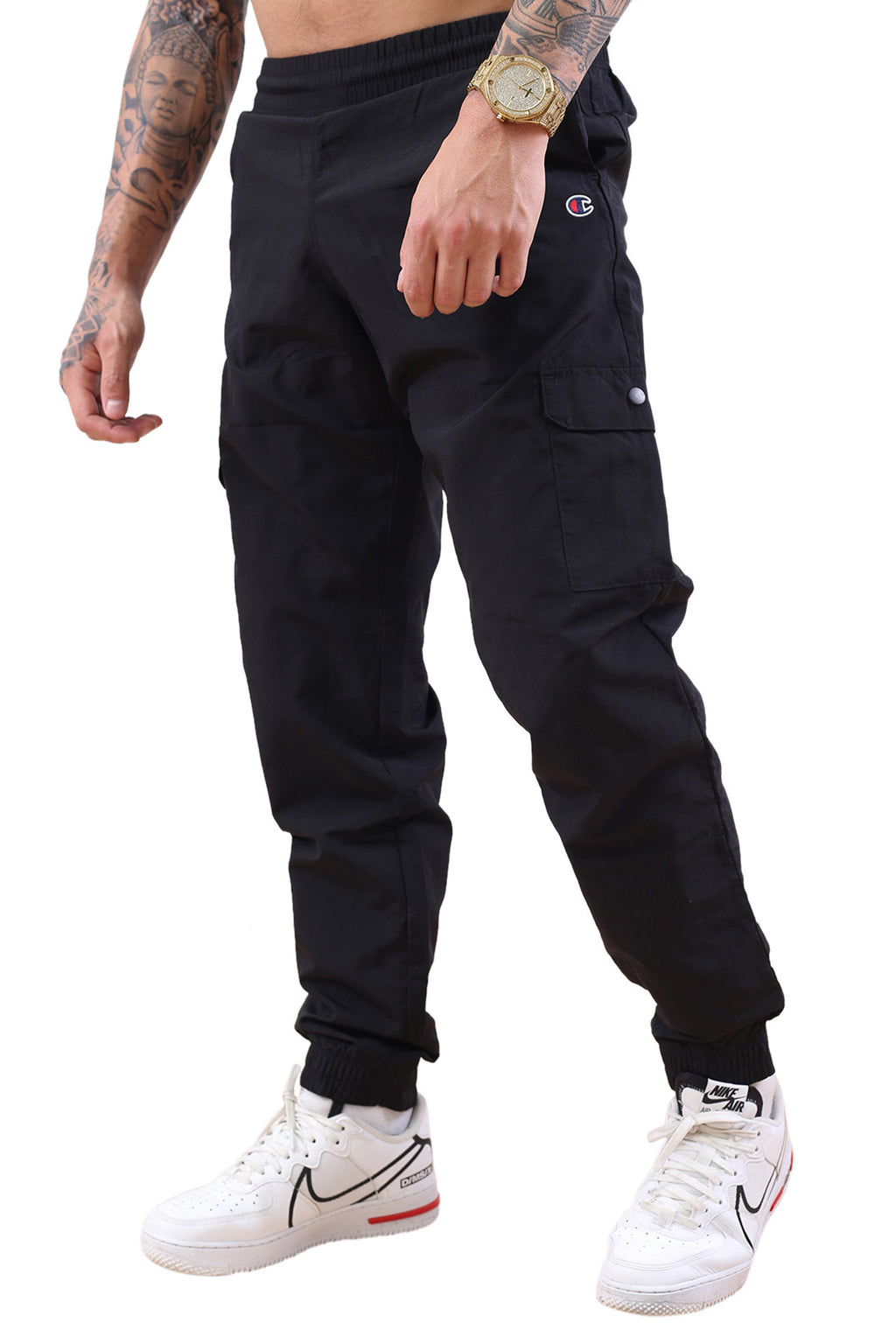 Champion EU Rochester CRNK Pocket Pant Black