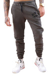 SikSilk X Steve Aoki Joggers Wash Grey