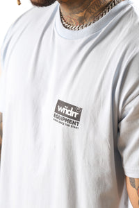WNDRR Code Custom Fit Tee Sky Blue Detail