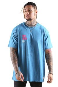 WNDRR Co Custom Fit Tee Teal Front