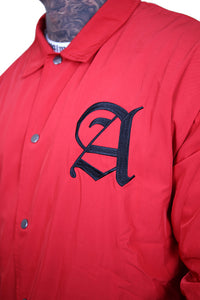 Staple x AFKNCHUR Coach Jacket Red