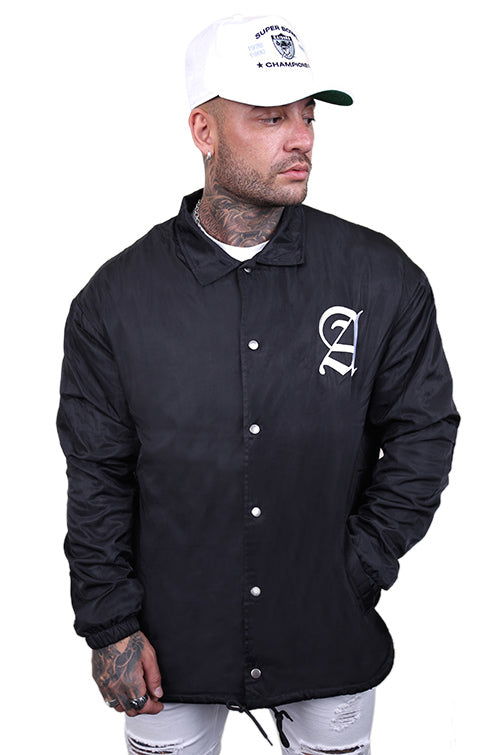 Staple x AFKNCHUR Coach Jacket Black