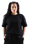 MeMe Terry Relaxed Tee Black