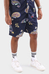 AFKNCHUR Olskool Lined Fleece Short Black