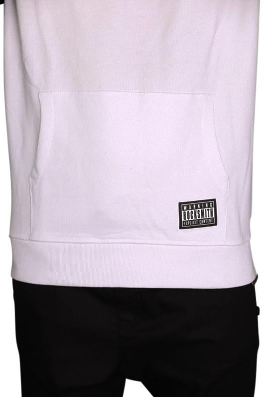 Rocksmith Akira Explicit Short Sleeve Pullover - White