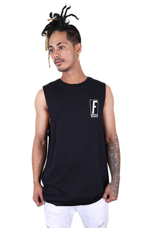 Federation Prince Atlas Tank Black Front