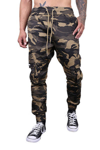 Federation Badge Street Pant Camo Front