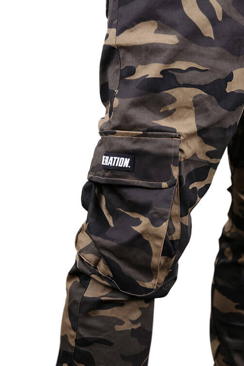 Federation Badge Street Pant Camo Detail 1