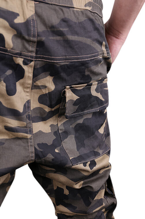 Federation Badge Street Pant Camo Detail 2