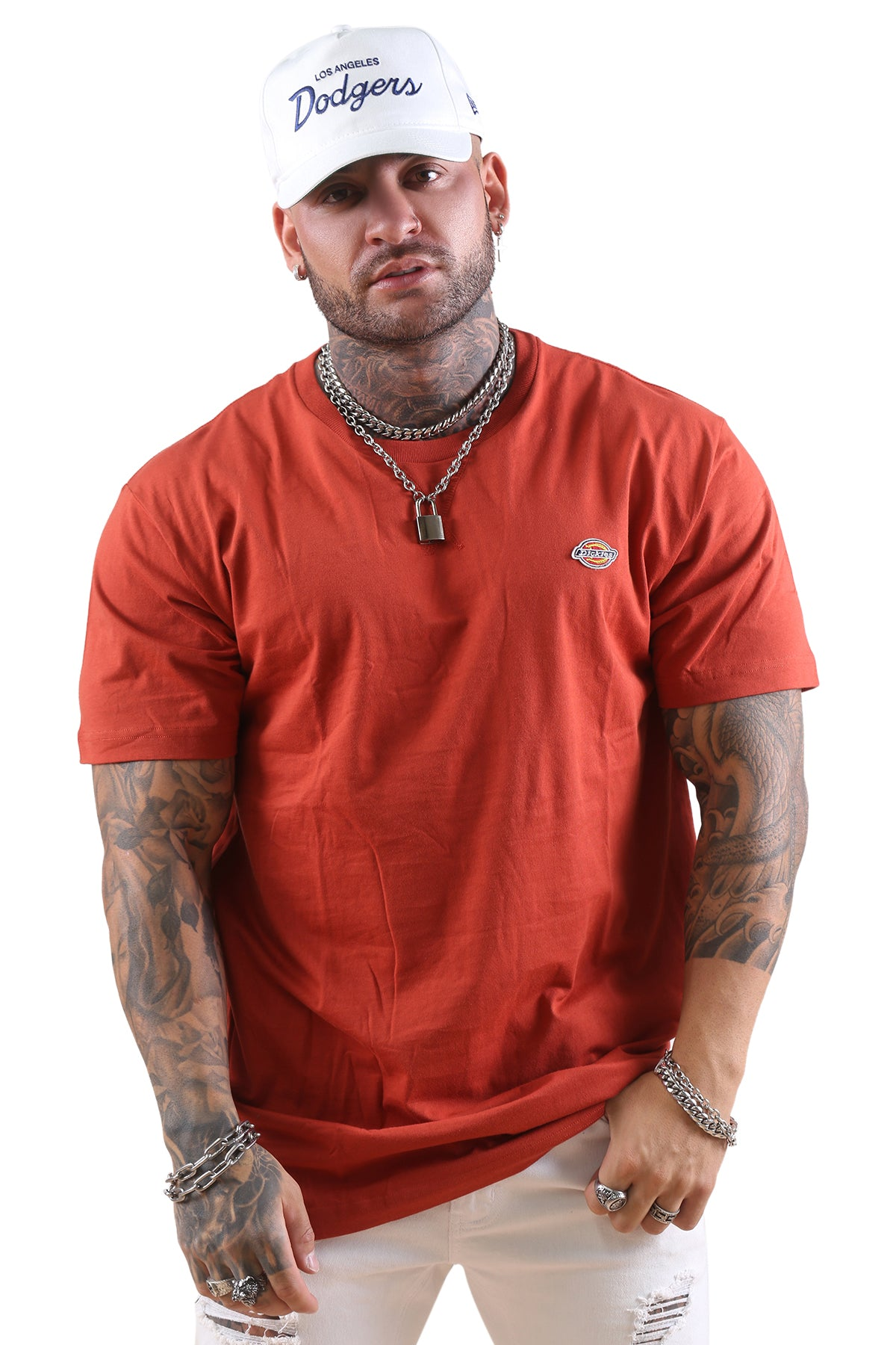 Dickies H.S Rockwood Classic Fit S/S Tee Rust