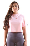 Ellesse Fireball Cropped Tee Light Pink
