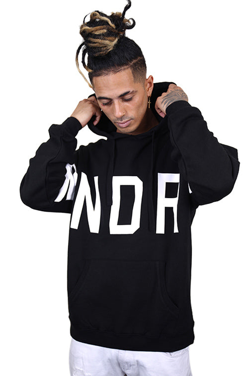 WNDRR Sweep Hood Sweat Black