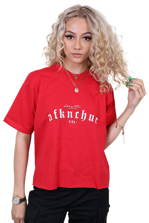 AFKNCHUR Pro Club Lifestyle Tee Red